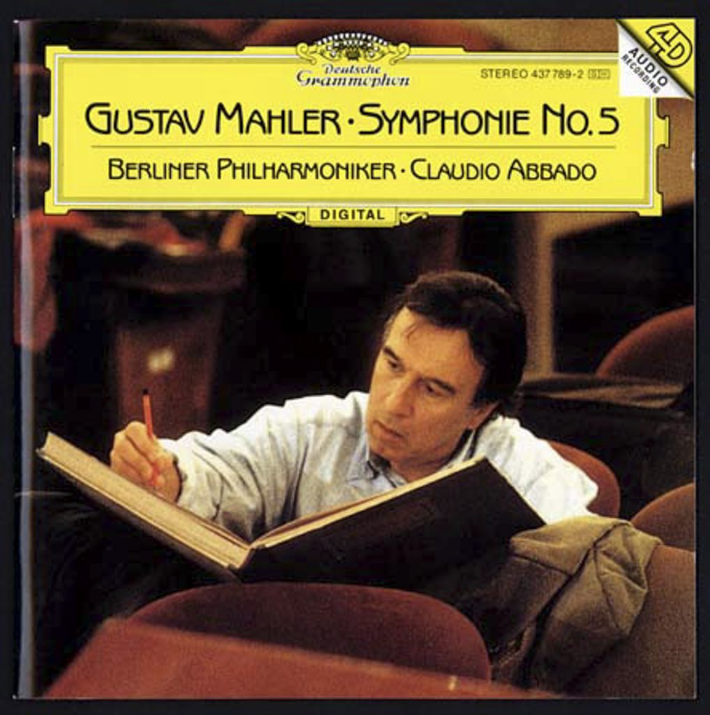 Abbado Berliner CD DG Mahler symphonie no 5