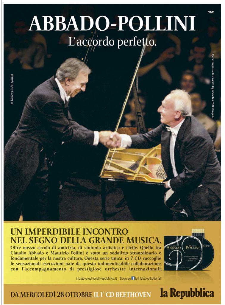 Abbado Pollini CD Repubblica