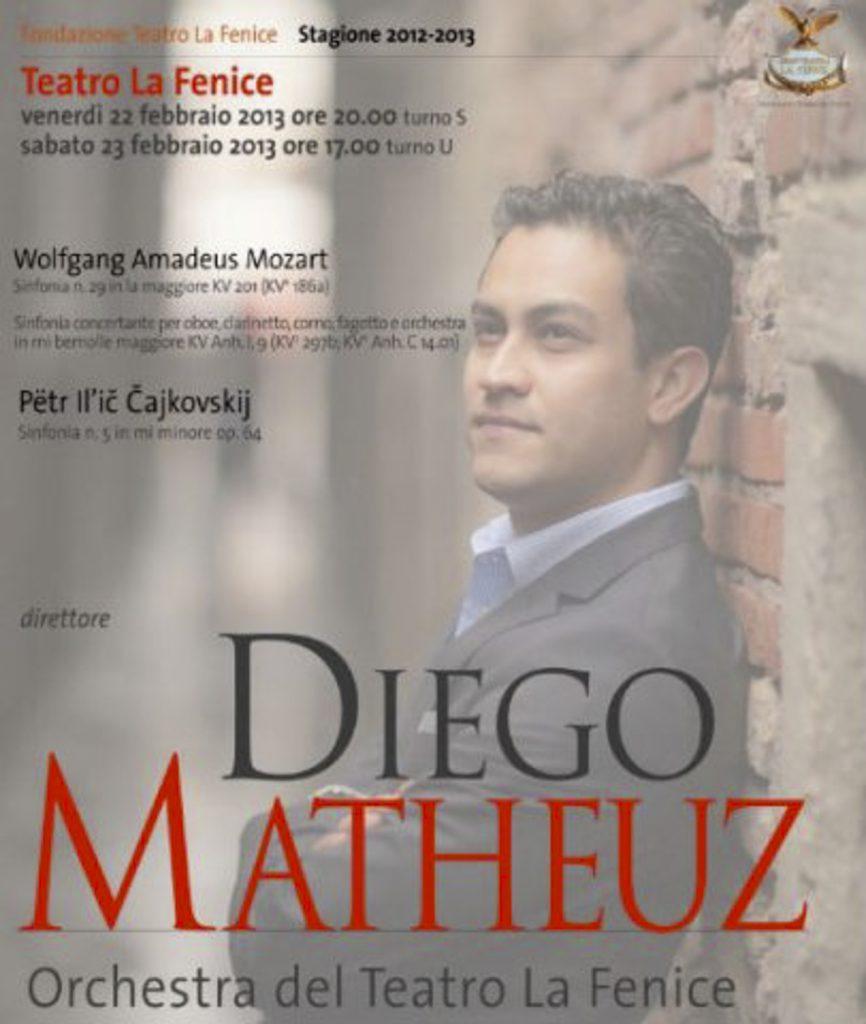 Diego Matheuz Fenice Venezia