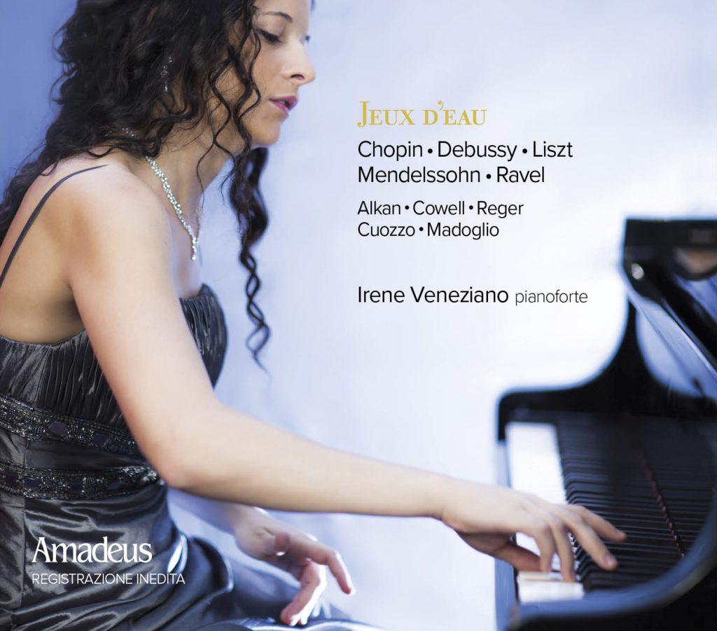 Irene Veneziano cd cover Amadeus